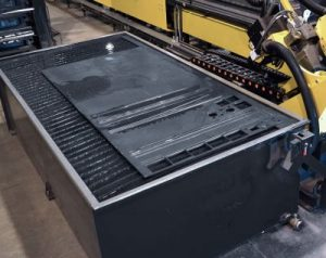 Sheet-Cutting Table, Steel Fabrication