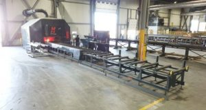 Automated Structural Steel Fabrication